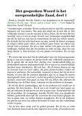 Het gesproken Woord is het oorspronkelijke Zaad, deel 1 - Vrije ... - Page 3
