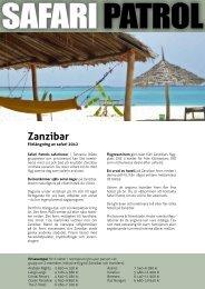 Zanzibar - Safari i Kenya och Tanzania