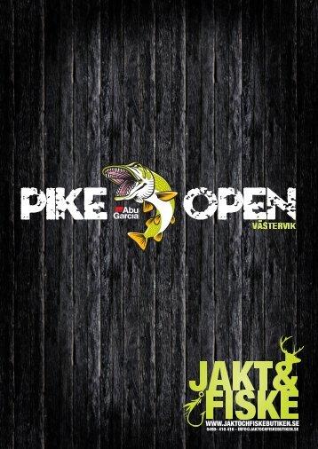 schema fredag 18/5 - Pike Open