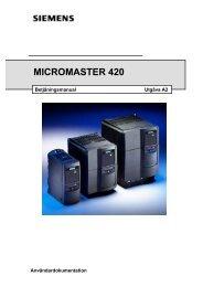 Användardokumentation Betjäningsmanual Utgnva A2 - Siemens AS