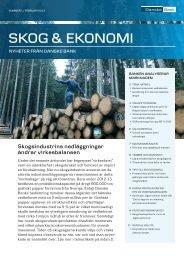 Skog & Ekonomi nr 1 - Danske Bank