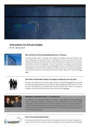 Information feb 2012 nr. 26 - Horsens Erhvervsråd