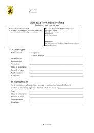 Aanvraagformulier Onttrekkingsvergunning - Gemeente Schiedam