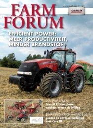 Farm Forum 01-2011.pdf - Welkom bij Van der Werf mechanisatie