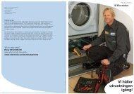 Vi håller utrustningen igång (1747 KB) - Electrolux Laundry Systems