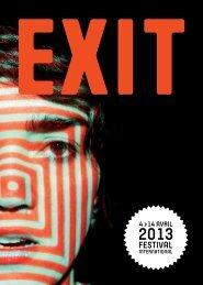 programme complet exit 13 - Maison des arts de Créteil
