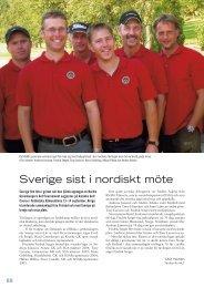 Sverige sist i nordiskt möte