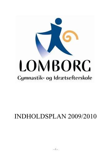 1 Lomborg Gymnastik- og Idrætsefterskole