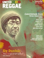 United Reggae Magazine #7