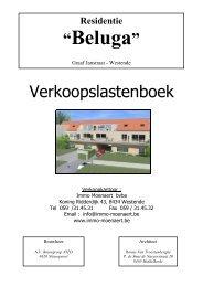 Lastenboek - Immo Moenaert