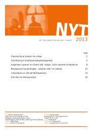 Nyt fra Ankestyrelsen nr. 2 marts 2013