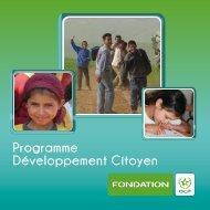 Programme Développement Citoyen - Fondation OCP
