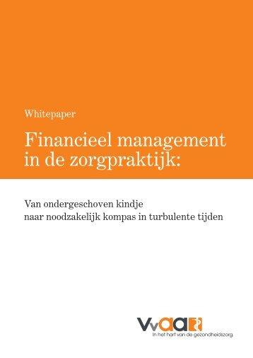 Financieel management in de zorgpraktijk: - VvAA
