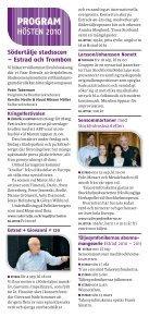 Södertälje Stadsscen Höstprogram 2010 - Södertälje kommun - Page 2