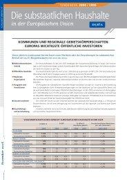 Die substaatlichen Haushalte - Council of European Municipalities ...