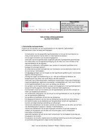 toelichting werkzaamheden hypotheek - OMD Notarissen