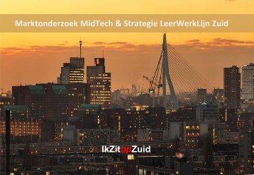 Marktonderzoek MidTech & Strategie LeerWerkLijn Zuid - Ik zit op Zuid