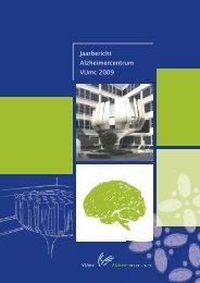 Jaarbericht Alzheimercentrum VUmc 2009 - VUmc Alzheimercentrum