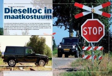 M e r c e d e s G 3 0 0 Mercedes-Benz G 300 Turbodiesel: - van der Aa