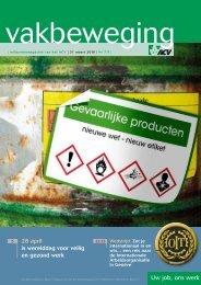 28 april is werelddag voor veilig en gezond werk - ACV