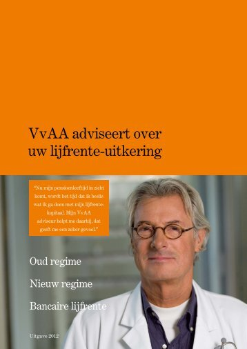 Lees de brochure - VvAA