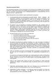 Garantievoorwaarden Bosch De onderstaande bepalingen, die de ...