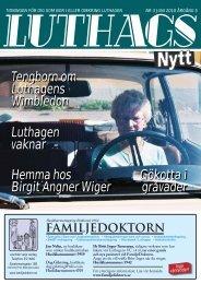 nr. 3/2010 - luthagsnytt