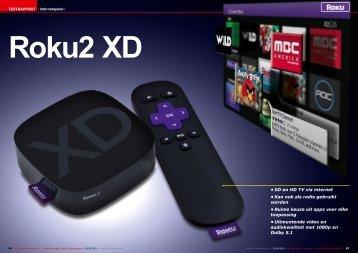 • SD en HD TV via internet • Kan ook als radio gebruikt worden ...
