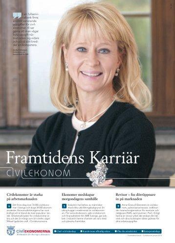 Civilekonom 2013 - Framtidens Karriär