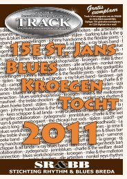 15e St. Jans Blues Kroegen Tocht - Stichting Rhythm & Blues Breda
