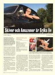Skivor och Amazoner är Eriks liv - Dagens Arbete