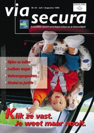 Via Secura 35 - Belgisch Instituut voor de Verkeersveiligheid