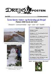 Årets første vinter- og forårsdag på Drejø!