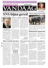 Randstad Vandaag 31 januari - Erasmus Journalisten