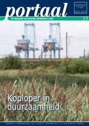 Koploper in duurzaamheid Koploper in duurzaamheid - Alfaport ...