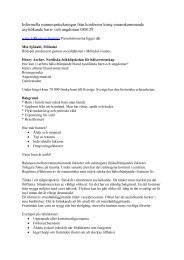 Dokumentation från IVIK-seminarium 080129.pdf - GR Utbildning