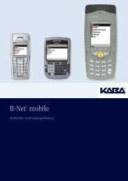 B-Net® mobile - Bavaria Zeitdienst Regensburg