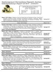 vom 09.07. - 25.08.2013 - Gemeinde Hippach