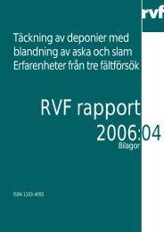2006:04 Bilagor - Avfall Sverige