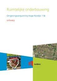 Ruimtelijke onderbouwing - Leiden