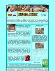 Jaargang 5 April 2011 Beste Vrienden, Deze ... - Lanka Lamai