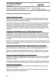 1. Bilag 1. § 18 ansøgninger til frivilligt socialt arbejde 2010 der ...