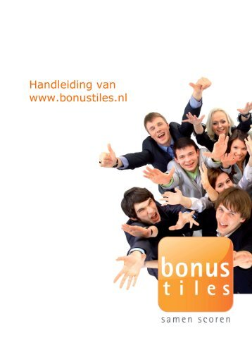 Handleiding van www.bonustiles.nl