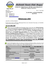 Rundschreiben Nr. 1 / 2005 - RTCA
