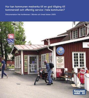 Hur kan kommunen medverka till en god tillgång till ... - Falu Kommun