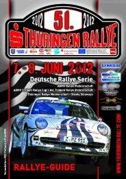 RALLYE-GUIDE - Thüringen Rallye