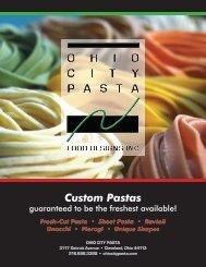 Ohio City Pasta Brochure PDF download