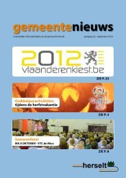 2012-09 - Gemeente Herselt