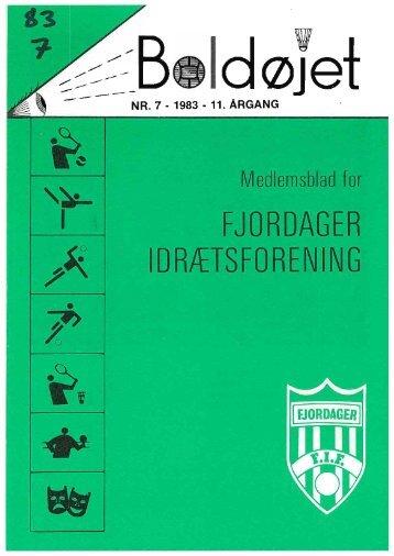 Nr. 7. - Fjordager IF Fodbold