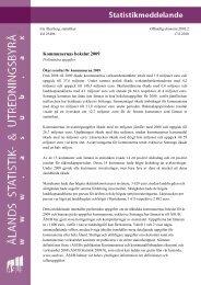 Kommunernas bokslut 2009, preliminära uppgifter (OF2010:2) - ÅSUB